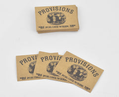 Mad Men: Bobby Draper's Vintage Provisions Cards
