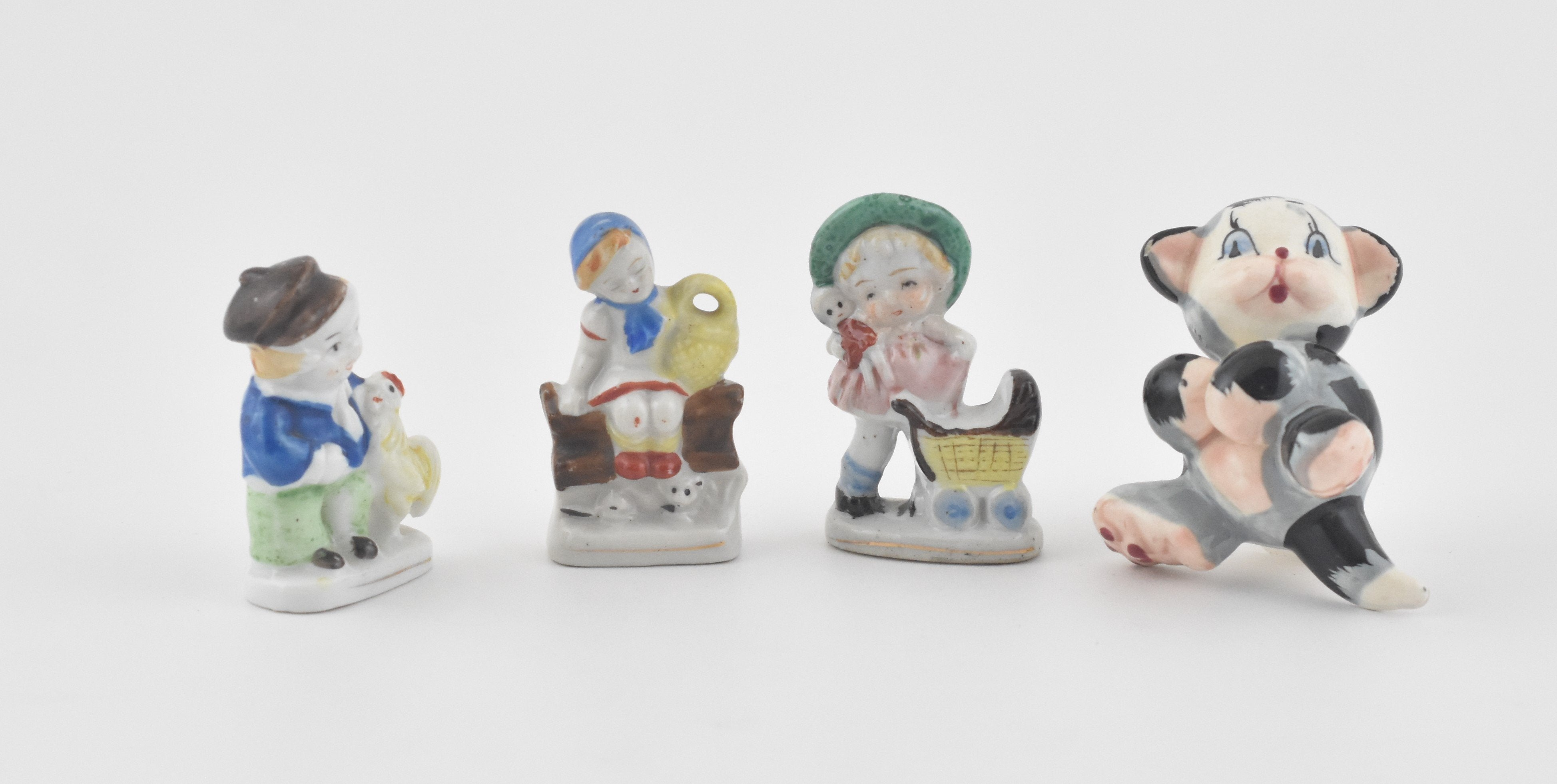 Mad Men: Children's Porcelain Figurines Set