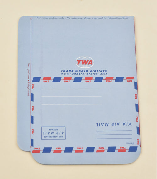 Screenbid Media Company, LLC. - Mad Men: Trans World Airlines Air Mail Envelope