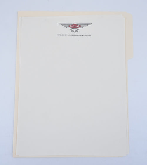 Screenbid Media Company, LLC. - Mad Men: Jaguar Blank Letterhead
