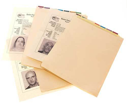 Gone Baby Gone: Screen Used Mugshot Forms