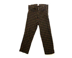 Gangs of New York: Boss Tweed's Black & Yellow Checked Trousers