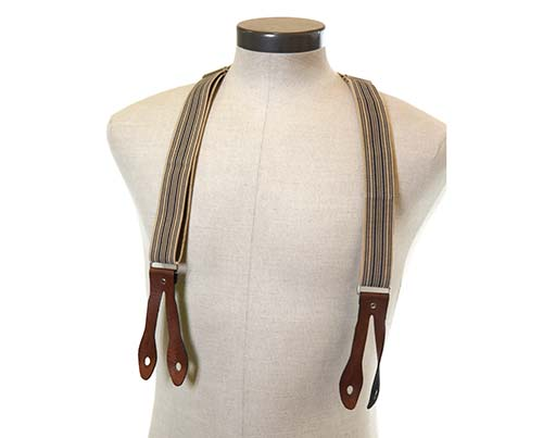 Boss Tweed's Striped Suspenders