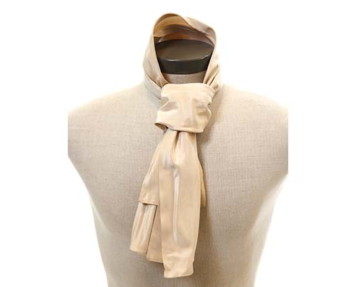 Boss Tweed's Champagne Colored Cravat-1