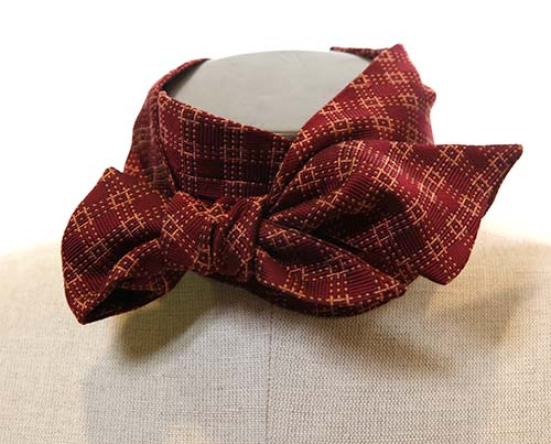 Boss Tweed's Red Bow Tie - 1 of 2-2