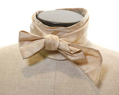 Gangs of New York: Boss Tweed's Champagne Colored Bow Tie