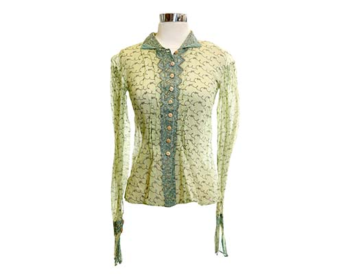 Screenbid Media Company, LLC. - Jenny's Light Green Blouse