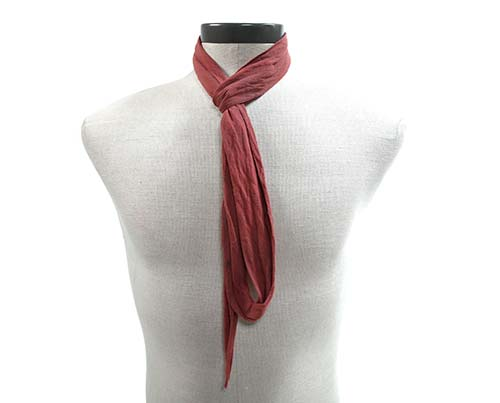 Gangs of New York Indian Red Scarf-1