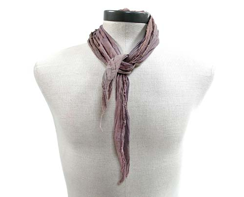 Gangs of New York Light Purple Scarf