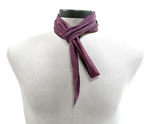 Gangs of New York Dark Purple Scarf-1