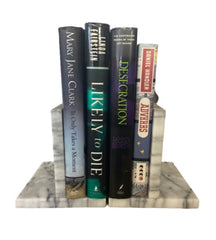 SILICON VALLEY: Erlich's Marble Bookends and Books