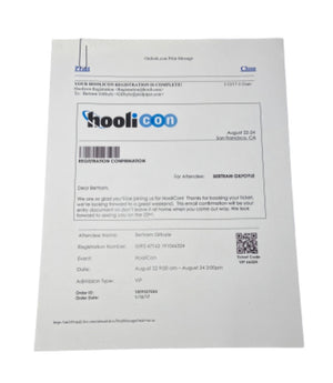 Screenbid Media Company, LLC. - SILICON VALLEY: HooliCon Registration Confirmation