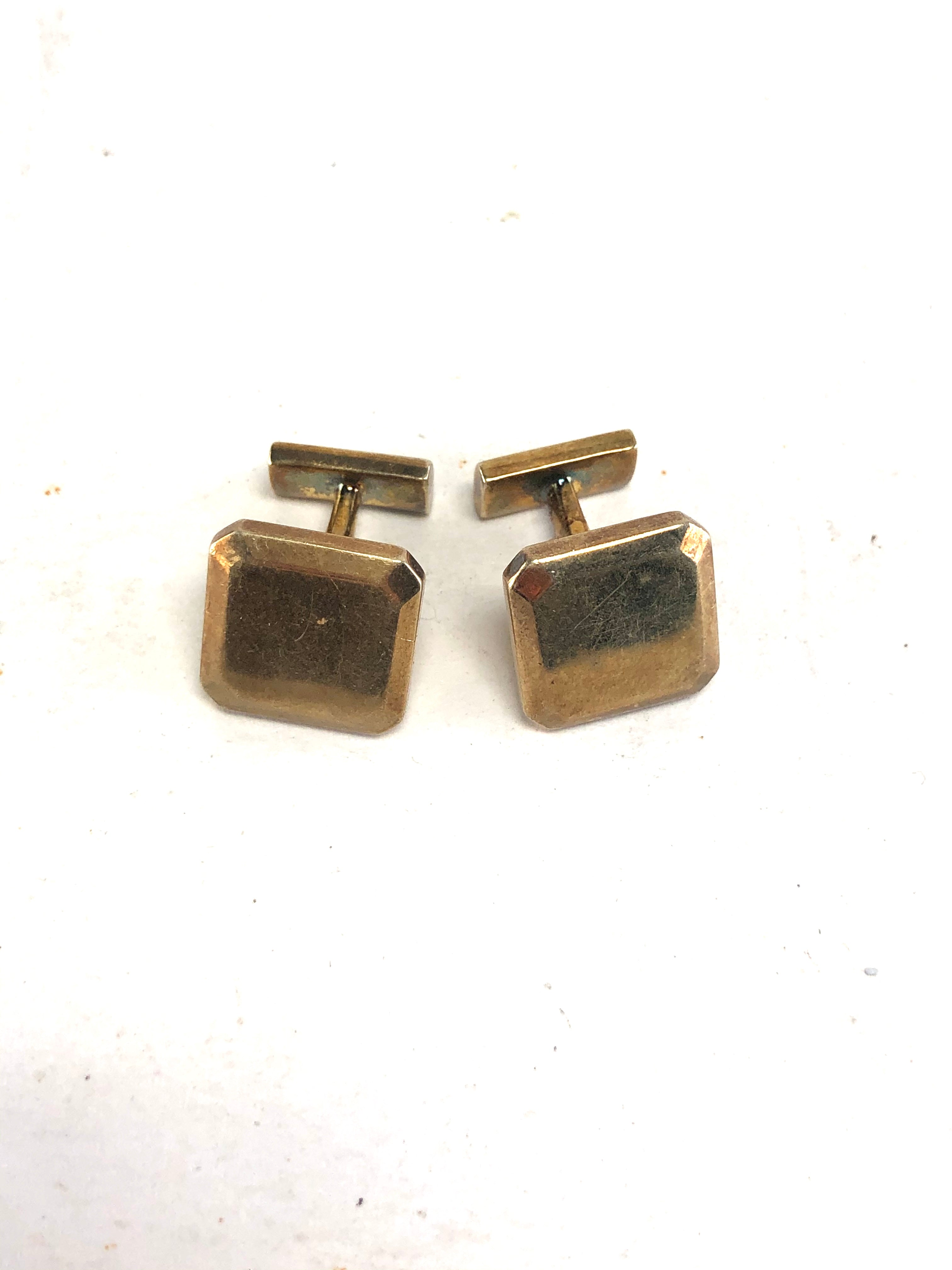 MASTERS OF SEX: Dr. Masters' Gold Square Cufflinks