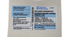 SILICON VALLEY: Richard's Hydrocodone Prescription Sticker