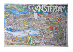 SILICON VALLEY: Erlich's Double Sided Vansterdam/Cannabis Culture Poster