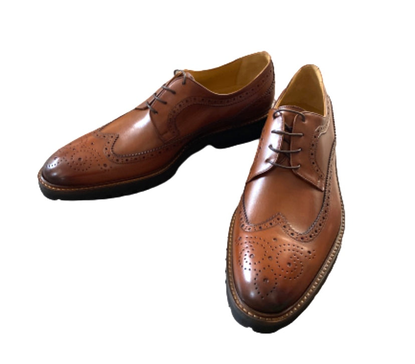 SILICON VALLEY: Gavin Belson's Brown Leather John W. Nordstrom Dress Shoes