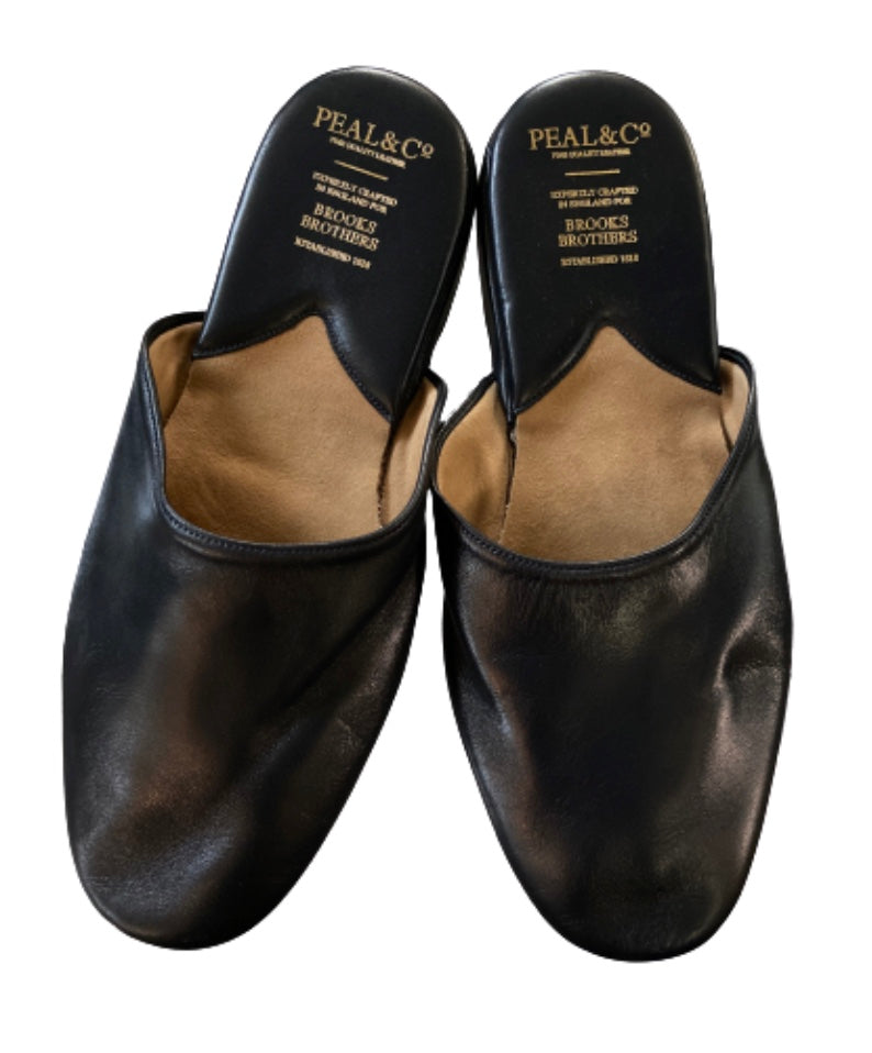 SILICON VALLEY: Gavin Belson's Black Leather Slippers