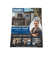 SILICON VALLEY: Denpok's Real Estate Listing Flyer