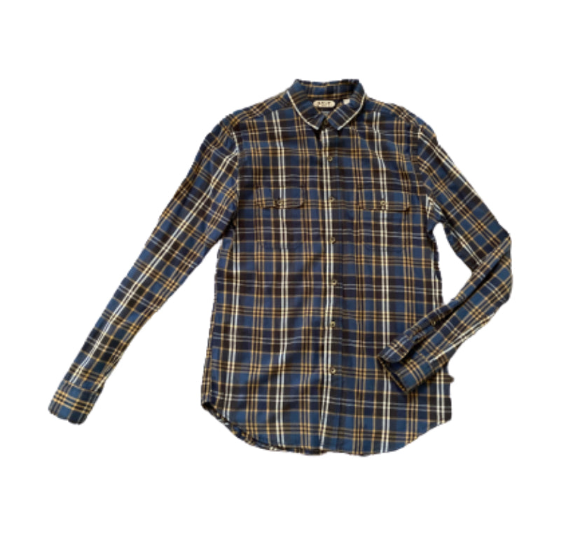 SILICON VALLEY: Richard's Plaid Salt Valley Button Down
