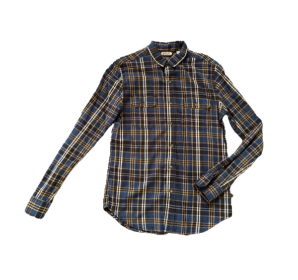 SILICON VALLEY: Richard's Plaid Salt Valley Button Down-1