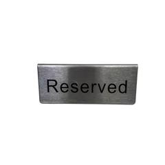 MAD MEN: Pete's Reserved Office Room Meeting Sign