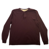 SILICON VALLEY: Gilfoyle's Maroon Long-sleeve Henley
