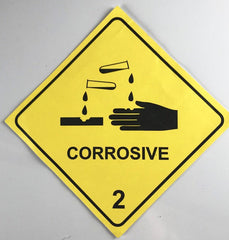 Breaking Bad: Walter White's Yellow Corrosive Material Sticker