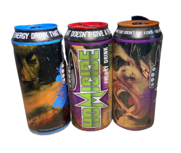 SILICON VALLEY: Homicide Energy Drink Prop Can -Set of 3-4