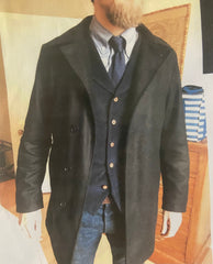 THE GENTLEMEN: Ray's Scene 64 Pea Coat, Shirt & Tie