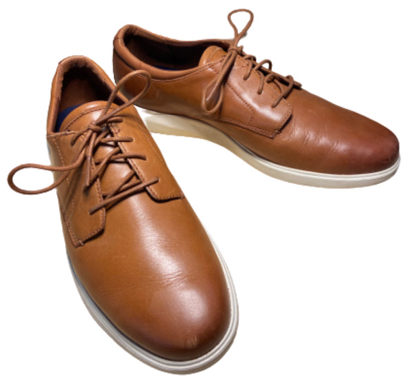 SILICON VALLEY: Dinesh's Brown Leather Cole Haan Shoes-1