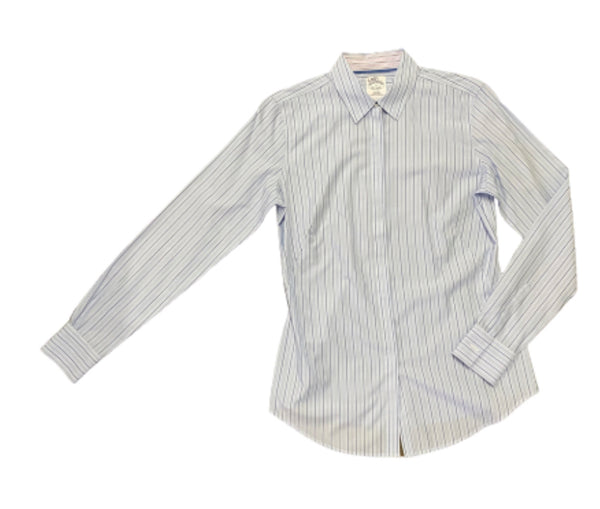 SILICON VALLEY: Laurie's Striped Brooks Brothers Button Down Shirt-1