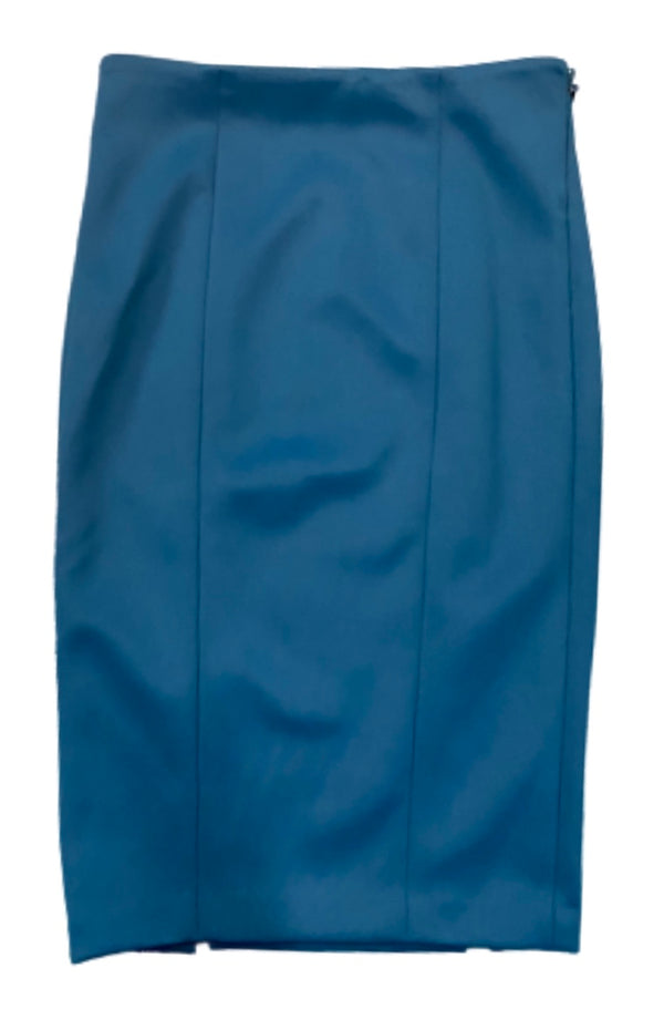 SILICON VALLEY: Monica's Blue Marciano Pencil Skirt-1