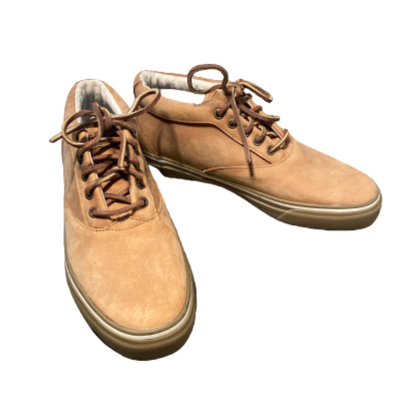 SILICON VALLEY: Dinesh's Brown Leather Sperry Shoes-1