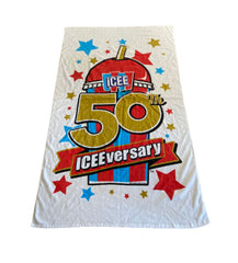 SILICON VALLEY: Hacker Hostel ICEE 50th Anniversary Beach Towel