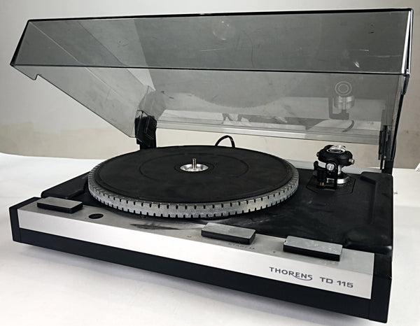 The Get Down - Thorens TD 115 Turntable-1