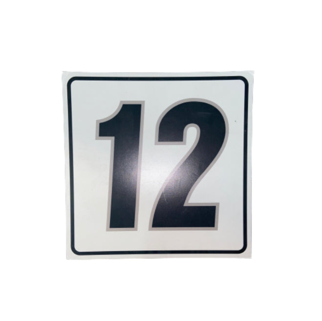 "SILICON VALLEY: Peter Gregory's Garage ""12"" Sign"
