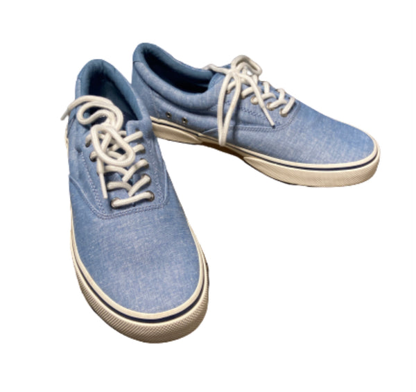 SILICON VALLEY: Dinesh's Blue Sperry Shoes-1