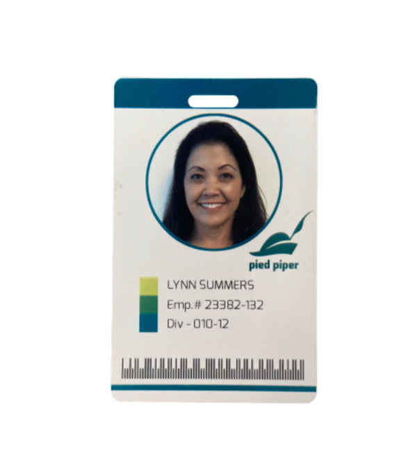 SILICON VALLEY: Lynn Summers' Pied Piper Employee Badge-1