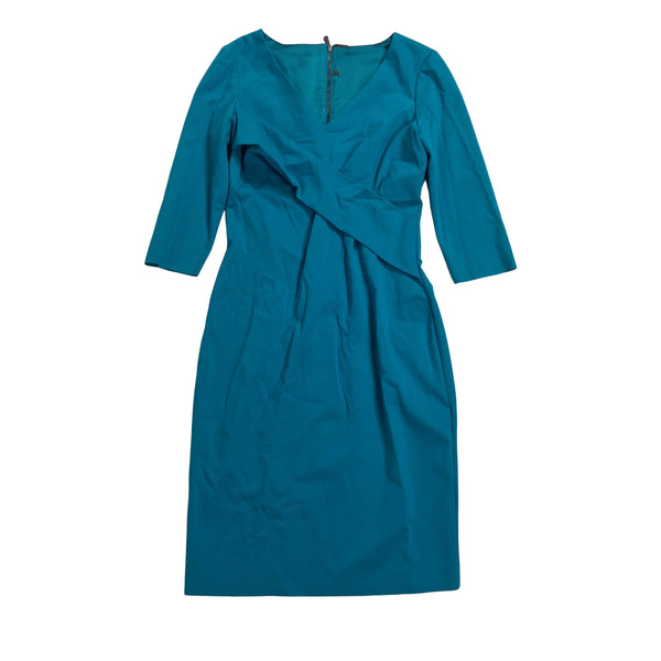 VEEP: Catherine's Blue Half Sleeve Dress-1
