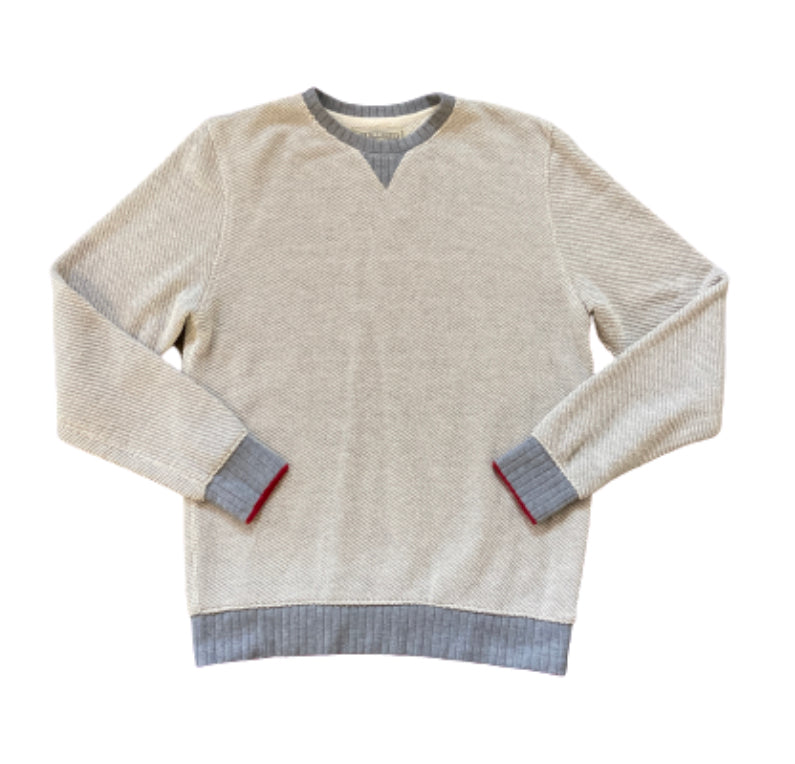 SILICON VALLEY: Richard's Ace Rivington Knitted Crewneck Sweater