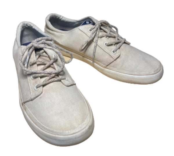 SILICON VALLEY: Dinesh's White Sperry Shoes-1