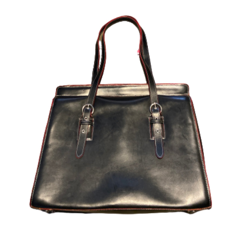 SILICON VALLEY: Laurie's McKlein Leather Briefcase