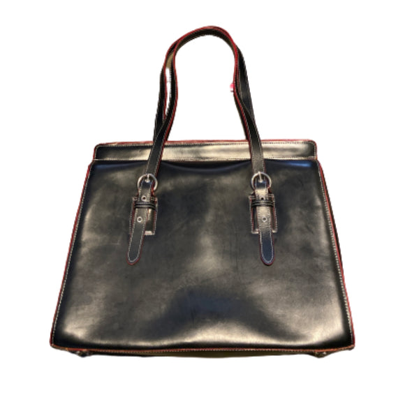 SILICON VALLEY: Laurie's McKlein Leather Briefcase-1