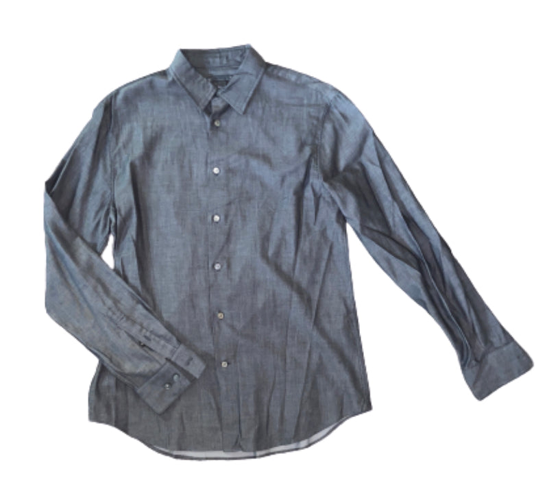 SILICON VALLEY: Gavin Belson's Grey John Varvatos Button Down