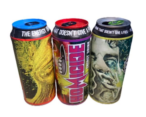 SILICON VALLEY: Homicide Energy Drink Prop Can -Set of 3-3