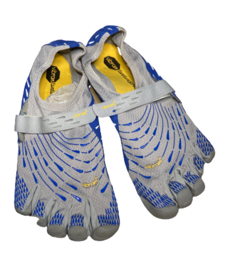 SILICON VALLEY: Gavin's Blue & Grey Vibram Running Shoes
