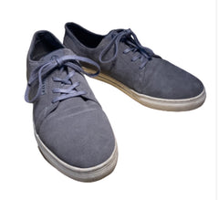 SILICON VALLEY: Dinesh's Grey Suede HUF Shoes