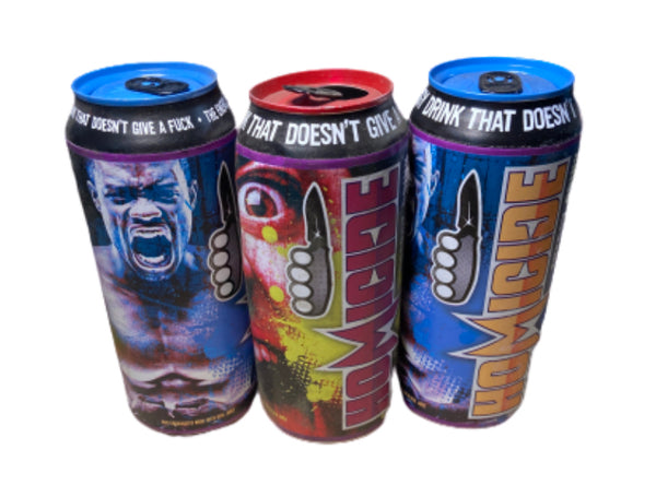 SILICON VALLEY: Homicide Energy Drink Prop Can -Set of 3-2