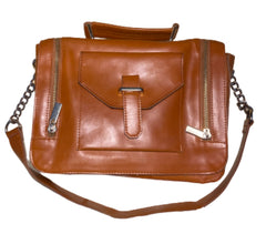 SILICON VALLEY: Monica's Brown Cooperative Crossbody Purse