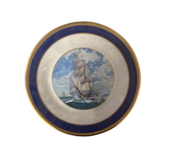 VEEP: Selina's Decorative Tall Ship Plate